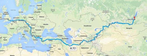 Durham Mongols Map