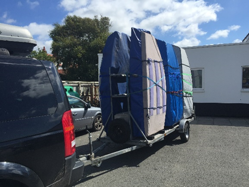 sailing equipment trailer
